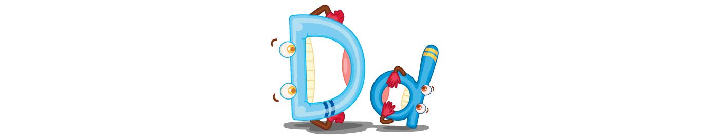 Lesson 4: Letter D - d