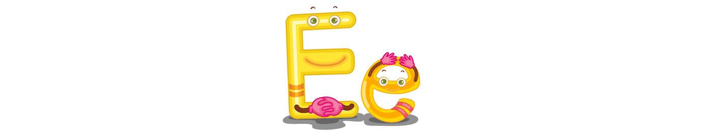 Lesson 5: Letter E - e