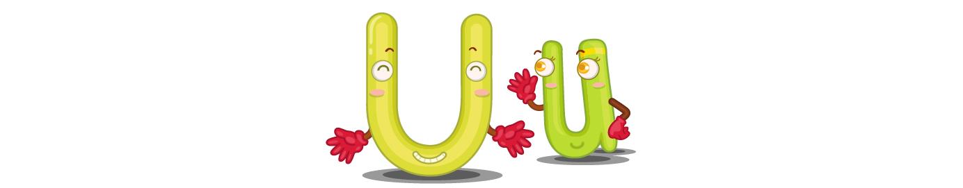 Lesson 21: Letter U - u