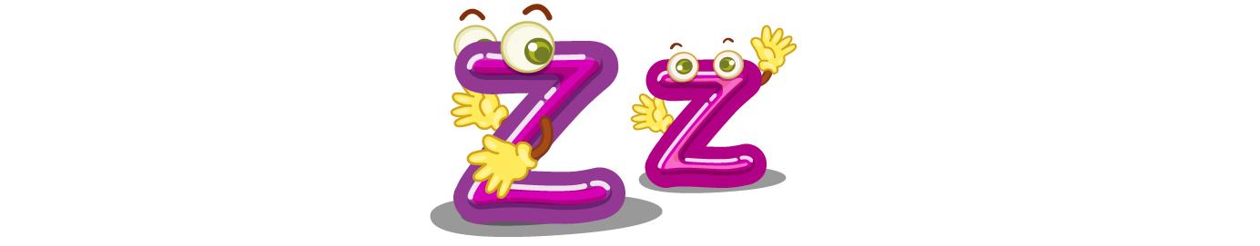 Lesson 26: Letter Z - z