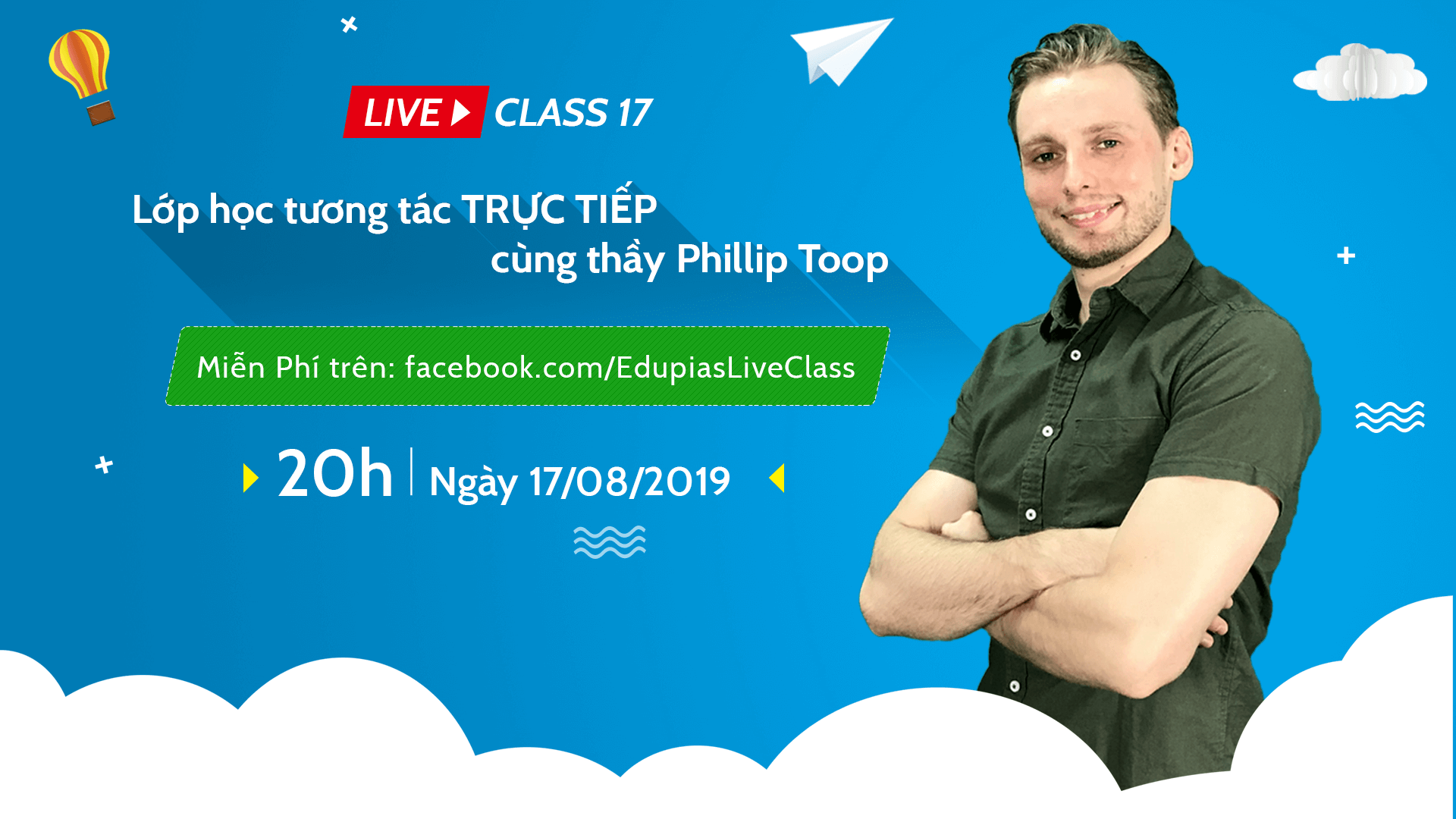 Live class tuần 17 - Chủ đề: In the playground