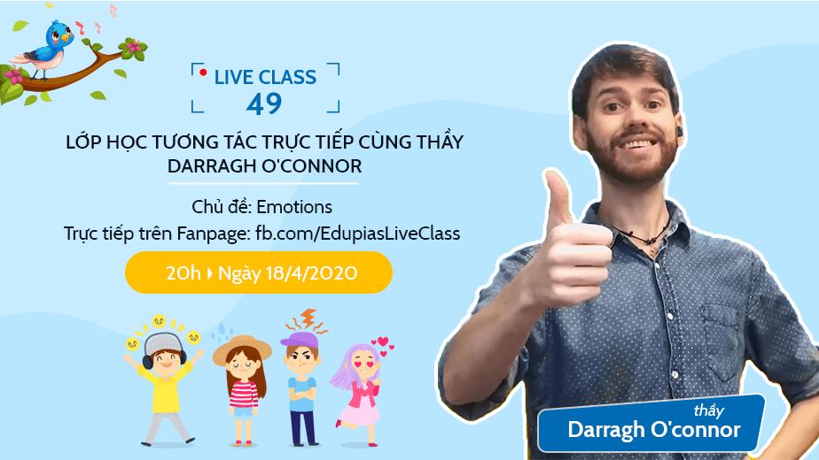 Live class tuần 49 - Chủ đề: Emotions