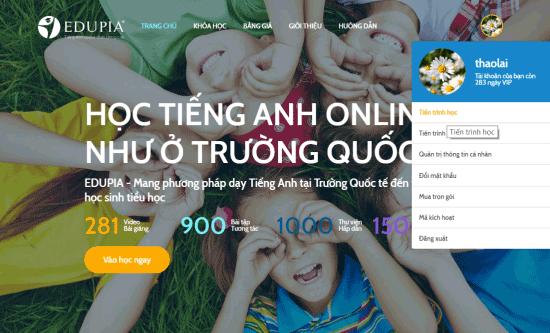 lựa chọn khóa học trên Edupia.vn
