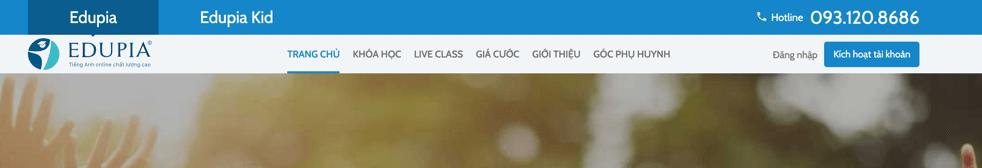 hướng dẫn đăng kí tài khoản mới trên Edupia.vn